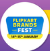 Flipkart Brands Fest 14-15 Jan : Upto 80% off on Appliances, Televisions, Furniture, Electronics, Fashion, Fitness & More