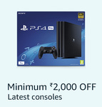 Minimum Rs.2000 Off on Gaming Consoles + 10% HDFC Cards Discount (19th - 23rd Jan)