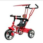 Toy House 4 in 1 Luxury Tricycle, Red [check price comparisions]