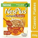 Nestle NesPlus Breakfast Cereal, Multigrain Flakes – Classic, 250 Grams (pantry)