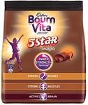 Bournvita 5 Star Magic Chocolate Health Drink, 500 gm Refill Pack