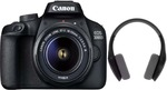 [Free Headset + Memory Card]  Canon EOS 3000D Kit (EF S18-55 III) 18 MP DSLR Camera