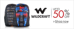 Wildcraft bags upto 52 % off from ₹282 buy more save more