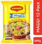 Maggi pack of 12 at 72