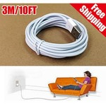 Hurry!! Limited time offer!! Buy 2 - 3 m long USB cables and get flat Rs 75 off !!