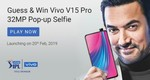 Play and win - stand a chance to win Vivo V15 pro
