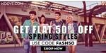 Flat 50% Off On All Product At Koovs.com ( FASH50)