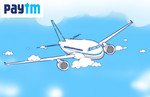 Paytm Flights Half Price Sale - Upto 50% Cashback on Flight Bookings