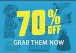 Brands Flash Sale : 70% off
