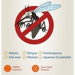 Dengue Shield Insurance for 1 year at Rs 49 only (Benefits upto Rs 1 lakh)