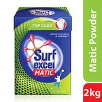 Surf Excel Matic Top Load Detergent Powder, 2 kg- Rs  285  [ 37 %  off   ] @  amazon