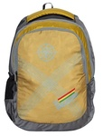 Devagabond 25 Ltrs Gold School Backpack (Vecto_2_Gold) apply 40% off coupon