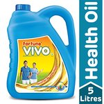[ Pantry ] Fortune Vivo Diabetes Care Oil Jar, 5L- Rs  498.98  [ 33 %  off   ] @  amazon