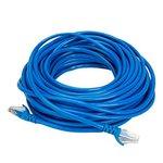 Terabyte CAT5E RJ45 Ethernet LAN Cable, 45 Feet (Blue)