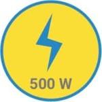 vFlipkart SmartBuy PowerChef Basic 500 W Mixer Grinder  (Red, Black, 2 Jars)