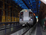 Noida-Greater Noida Metro connected with Delhi Metro