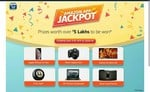 Amazon App Jackpot : Download the Amazon app and Sign In to stand a chance to win prizes worth 5 lakhs*