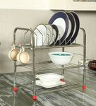 Furntec Stainless Steel 3 layer Kitchen rack 62%OFF