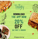 Twigly: get 20% off on first 2 orders